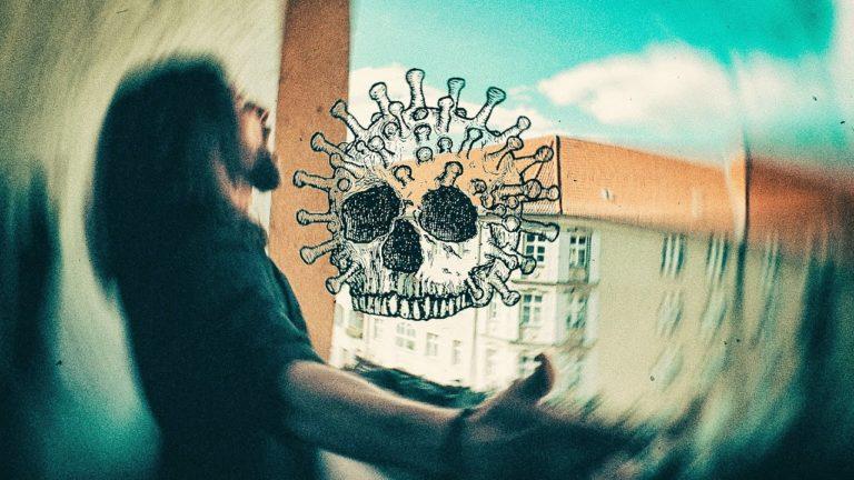 A N S T E C K E N D – Metalsong zur Viruspandemie von What's Left Behind