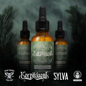 korpiklaani oil 300x300 - KORPIKLAANI verkaufen Bartöl für einen guten Zweck
