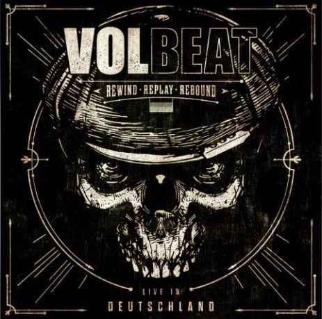"""volbeat - Neues VOLBEAT Live-Album """"Rewind, Replay, Rebound: Live in Deutschland"""" erscheint am 27. Nov 2020!"""