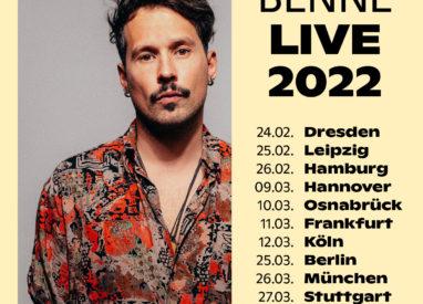 Die Musikiathek präsentiert: Benne kommt 2022 auf Tour